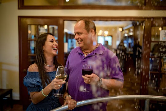 The Door County Distillery allows couples to get in good spirits while sampling theirs.