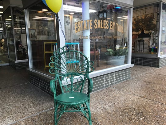 Estate Sales by Tara is open at 219 DeSiard Street.