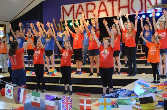 File photos of the 2018 charity dance marathon at Rockaway Valley United Methodist Church in Boonton Township. Boonton Township.