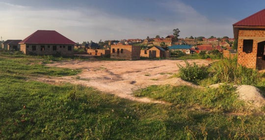 Land in Uganda purchased in part by funds raised from a charity dance marathon at the Rockaway Valley United Methodist Church in Boonton Township in 2016. Proceeds from another marathon in 2020 will go to help build a school there.