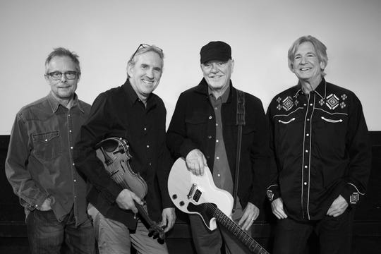 Rusty Young (wearing hat) is one of the co-founders of Poco, which helped to create the country rock sound the Eagles and other bands also made famous. Poco performs Jan. 12, 2020, in Bonita Springs, Florida.