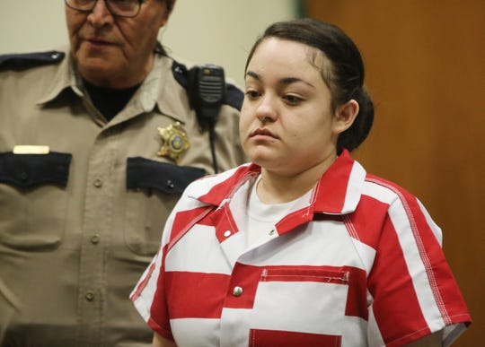 Las Cruces resident Damika Childs was sentenced to 20 years in prison Wednesday, Jan. 8, 2020, in Third Judicial District Court, for her part in the 2016 fiery death of Johnny Ramirez, who was just 20 years old when he died.