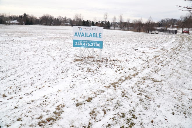 Lyon Township may be soon welcoming new development to this part of the Lyon Crossing site on Lyon Center Road just west of Milford Road.
