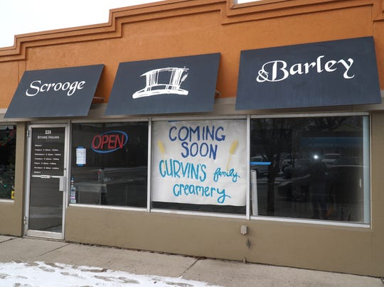 The former Scrooge & Barley home brew store at 226 South Lafayette in South Lyon is slated to take on its next life as a nitrogen ice cream shop.