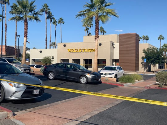 A Wells Fargo bank branch was robbed Thursday, Jan. 9, 2020, according to the Riverside County Sheriff's Department. A man brandished a handgun and fled the scene with an undisclosed amount of money.
