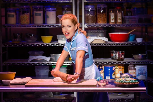 """Bailey McCall as Jenna in the National Tour of 'Waitress,"""" which debuts at Saenger Theatre Jan. 15 and 16."""