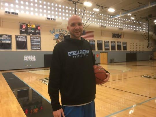 Chad Williams, assistant basketball coach at Estrella Foothills High School.