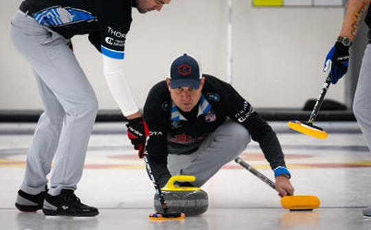 2018 Olympic gold medalist John Shuster and his curling teammates are competing this weekend at the Ed Werenich Golden Wrench Classic in Tempe. The World Curling Tour event is being held at the Coyotes Curling Club.