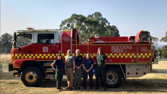 BLM sent four Arizona firefighters to help battle brushfires ravaging Australia.