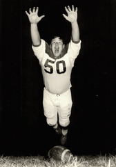 Joe Hudak was offered a football scholarship by  Bo Schembechler to Miami of Ohio.