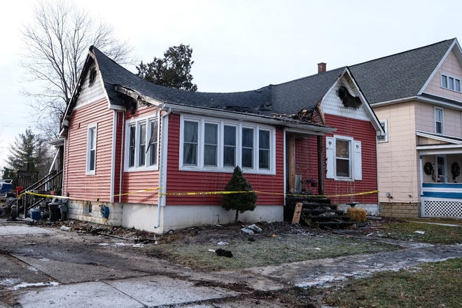 A home in the 200 block of West Boulevard in Marine City was declared a total loss following a fire on Wednesday, January 9, 2020.