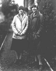 Edith Schryver, left, and Elizabeth Lord