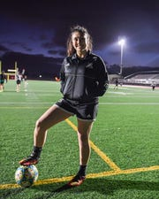 A captain for the last two years, Tijerina's striven to be there for her teammates on and off the pitch. Jan. 7, 2020.