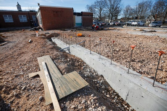 The Sunshine Elementary project involves nearly 200 workers, including subcontractors.