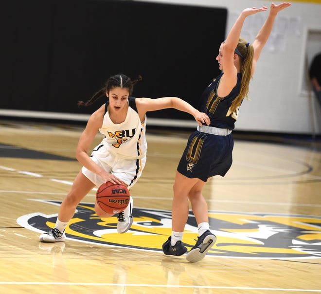 Mary Baldwin's Demet Saygili is among a group of returning players who coach Ross James is excited about seeing on the court this season.