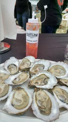 Outlaw Oyster Company will be shucking and selling fresh, farm-raised oysters that were harvested in the very Bay waters that the festival overlooks at Woolley Park.