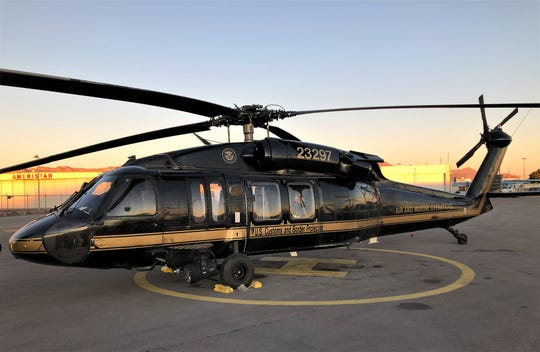 CBP Air and Marine Operations El Paso has received new Black Hawk helicopters.