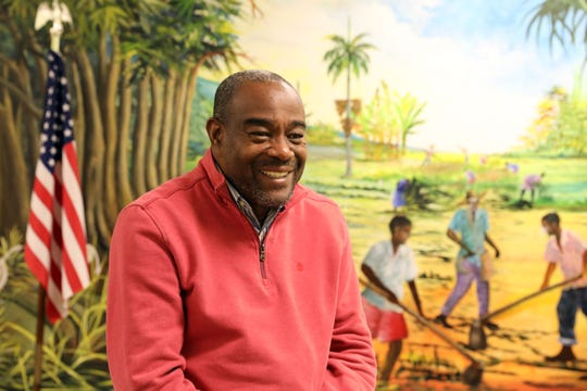 Renold Julien, President/Executive Director of Konbit Neg Lakay, a Haitian non-profit community organization, discusses how ending Temporary Protected Status (TPS) will impact the community Jan. 8, 2020 in Spring Valley.