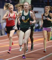 Franklin D. Roosevelt's Sarah Trainor wins her heat of the girls 1 mile during The Millrose Games Trials at The Armory in Manhattan Jan. 8, 2020.