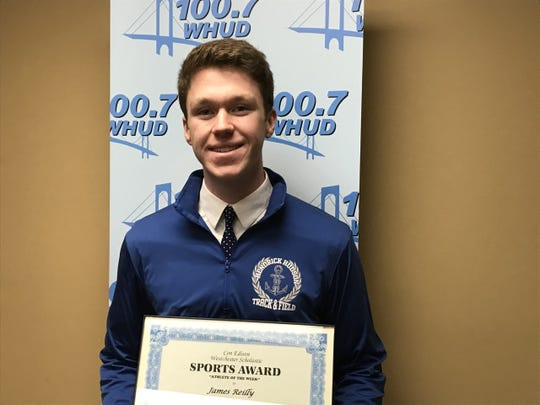 Hen Hud's James Reilly is the latest Con Edison Athlete of the Week.