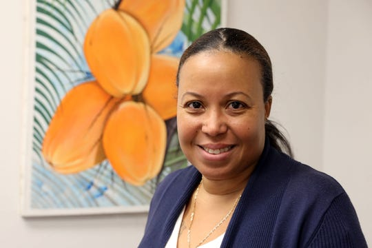 Yola Moiso, Director of Operations of Konbit Neg Lakay, a Haitian non-profit community organization, Jan. 8, 2020 in Spring Valley.