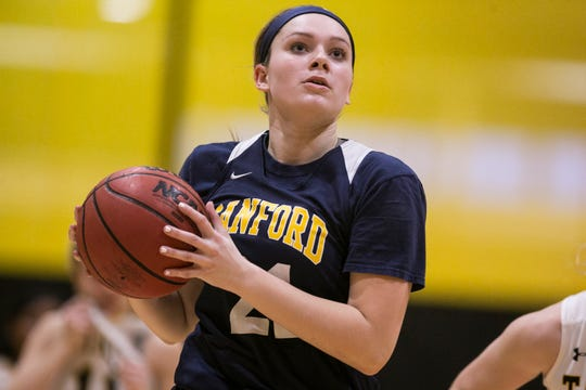 Allie Kubek of Sanford girls basketball is the Delaware Online Athlete of the Week for Week 6 of the winter season.
