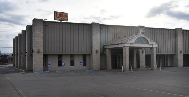 The Luby's restaurant on Ninth Street has temporarily closed its front serving line and drive-thru window but is still offering catering and meeting room services.