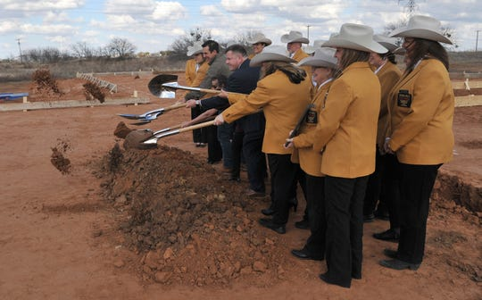 Wichita Falls Gold Coat Ambassadors broke ground, Thursday afternoon, on a new facility that will serve luxury to area pets.