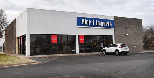 The Pier 1 store on Kemp Boulevard in Wichita Falls is believed to be on the list of locations the company is closing.