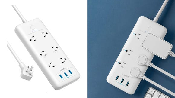 This power strip is useful and on sale.