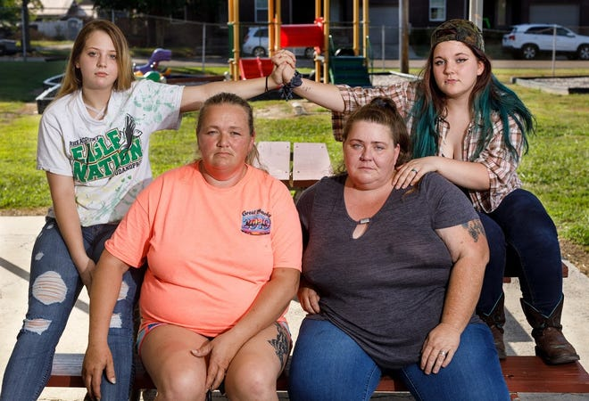 Clockwise from left, Trista Freeman, Rose Reynolds, Rana Reynolds and Lisa Freeman are concerned about bus safety after Trista and Rose were passengers aboard a Rhea County school bus when driver Michael Ledbetter was arrested and charged with a DUI in November 2018.