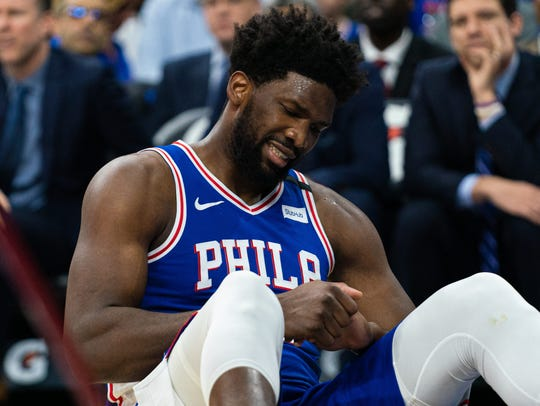 Joel Embiid is expected to miss three to seven weeks following surgery to repair a torn ligament in his left ring finger.