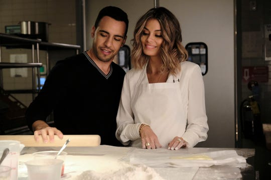 "Will sparks fly for Daniel (Victor Rasuk) and Noa (Nathalie Kelley) on ""The Baker and the Beauty?"""
