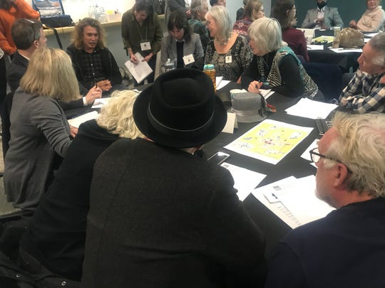 Residents participate in a Jan. 9 public input session on potential new rules for hotels after the Sept. 24, 2020 expiration of the hotel construction moratorium.