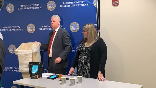 More than 2,000 prescription drug deactivation bags will be available to residents next month.