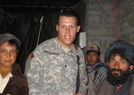 Palm Bay resident David Weissman, pictured in Kandahar during one of two deployments to Afghanistan, was born in New York and served in the U.S. Army for 13 years.