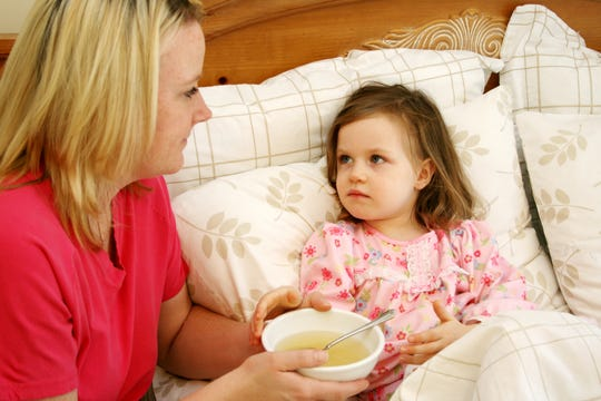 Aid in your child's recovery process by providing plenty of fluids and letting them rest.