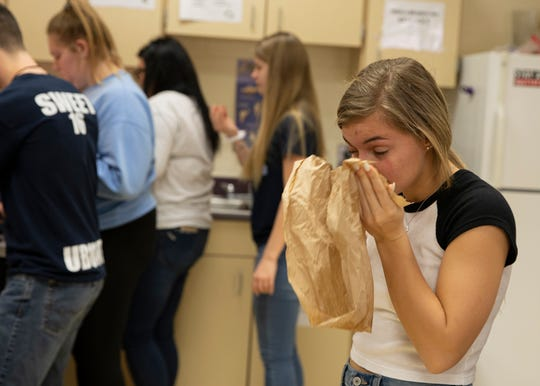 Led by science teacher Matt Colopy for the second year in a row, students enrolled in Adena's anatomy and zoology class learned about the organs and functions of a whitetail deer and how to eventually process and cook the meat into various types of food.
