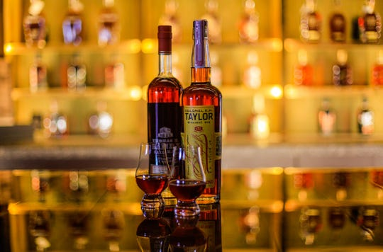 A wide variety of bourbons – and other spirits – are available at the Oscar Station, open to the public from 4-10 p.m., Wednesdays and Thursdays.