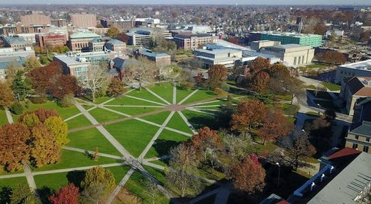 The Oval at The Ohio State University.