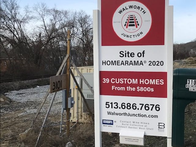 Homearama 2020 will be in Cincinnati's East End this year.
