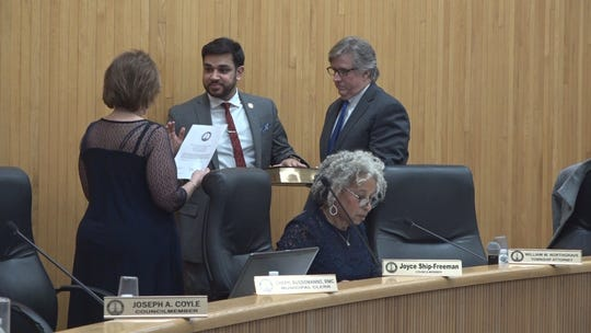 Edison Township Councilman Sam Joshi, who is beginning his third year on the council, was sworn in as Council Vice President on Jan. 6.