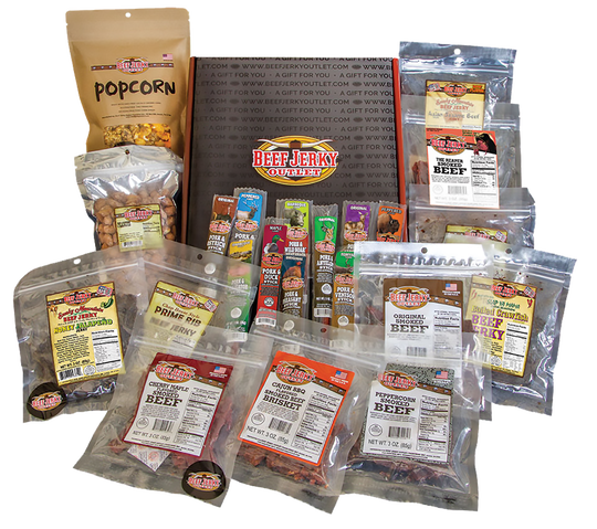 Beef Jerky Experience will offer a variety of flavors and varieties of animal jerky, including exotic flavors like kangaroo and alligator.
