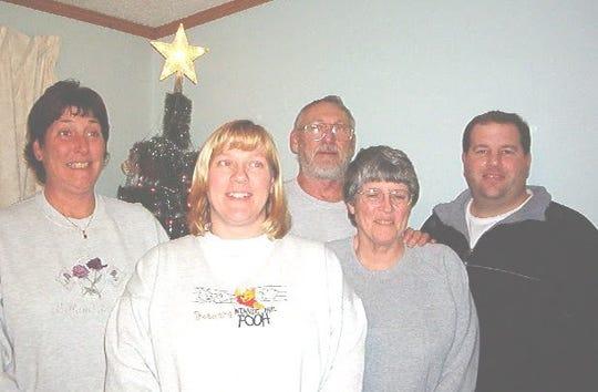 Richard and Charlotte Davis and family