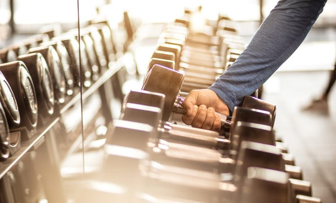 When you work out at a gym, you're warm and sweaty. The air is moist and you're in close proximity to a lot of people who may not be at their healthiest. That's a recipe for illness and infections.