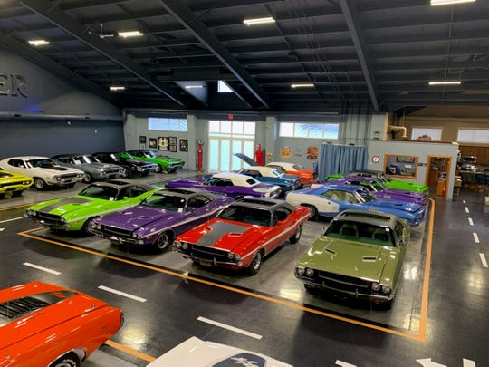 Peter Swainson has a collection of classic muscle cars at his home in Red Deer, Alberta, Canada. He plans to be in Detroit to show a car in Autorama 2020. The collector is a top client of restoration specialist David Dudek, an FCA mechanic from St. Clair Shores.