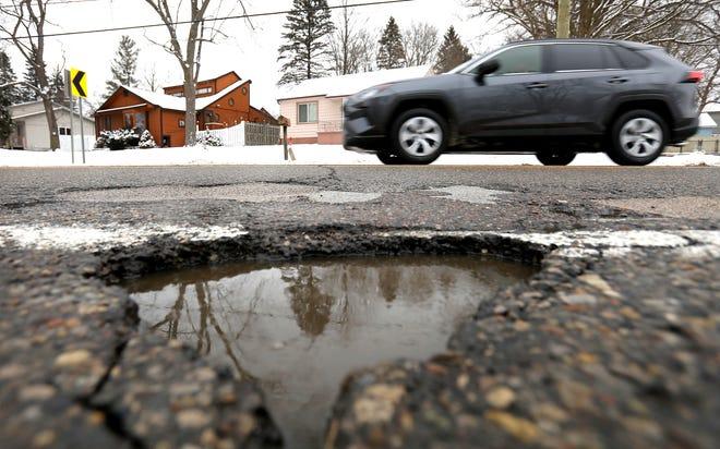 Michigan has pothole problems.