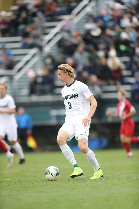 Michigan State defender Patrick Nielsen was selected by Atlanta United FC in the first round, 23rd pick overall, in the MLS SuperDraft Thursday.