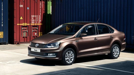 Volkswagen's Polo sedan for 2020.