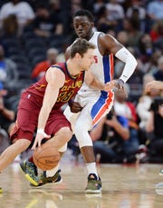 Pistons' Reggie Jackson has only played in two games this season due to a lower back ailment.